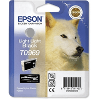 Epson T0969 Light Light Black Ink Cartridge (Original)