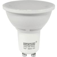 GU10 LED 5W Spotlight Bulb (50W Equivalent) 345 Lumen - Warm White