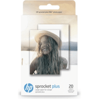 HP 2LY72A ZINK Stickey-Backed 5.8x8.7cm Glossy Photo Paper 258gsm 20 sheets