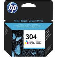 HP 304 Tri-Colour Ink Cartridge (Original)