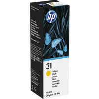HP 31 Yellow Ink Bottle (Original)