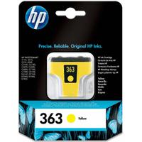 HP 363 Yellow Ink Cartridge (Original)