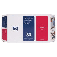 HP 80 ( C4847A ) Original High Capacity Magenta Ink Cartridge