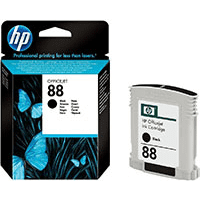 HP 88 ( C9385AE ) Black Original Ink Cartridge