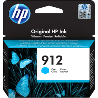 HP 912 (3YL77AE) Cyan Original Ink Cartridge