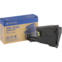Kyocera TK-1115 Black Toner Cartridge (Original)