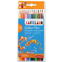 Lakeland Colourthin Colouring Pencils Assorted Colours (12 Pack)