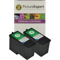 Lexmark 1 / 18C0781 x2 Compatible Colour Ink Cartridges