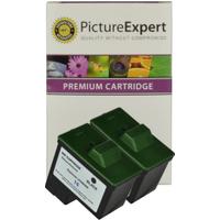 Lexmark 16 / 10N0016 Compatible Black Ink Cartridge ** TWIN PACK DEAL **