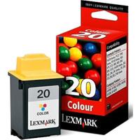 Lexmark 20 Colour Ink Cartridge (Original)