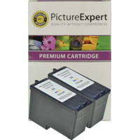 Lexmark 24 / 18C1524 Compatible Colour Ink Cartridge **TWIN PACK DEAL**