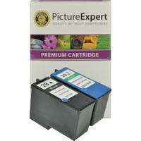 Lexmark 28 / 18C1428E & 29 / 18C1429E Compatible Black & Colour Ink Cartridge Pack
