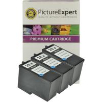 Lexmark 28 / 18C1428E Compatible Black Ink Cartridges x 3