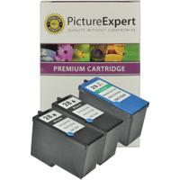 Lexmark 28 Compatible Black x 2, 29 Compatible Colour x 1 Ink Cartridge Pack