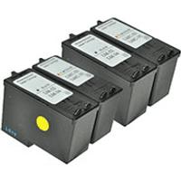 Lexmark 34/32 x 2 & 35/33 x 2 Maximum Capacity Compatible Black & Colour Ink Cartridge 4 Pack