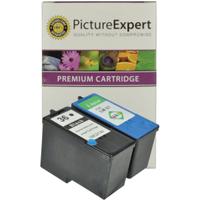 Lexmark 36 / 18C2130 & 37 / 18C2140 Compatible Black & Colour Ink Cartridge Pack