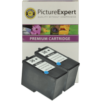 Lexmark 36 / 18C2130 Compatible Black Ink Cartridge **TWIN PACK DEAL**
