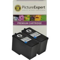 Lexmark 4 / 18C1974 Compatible Black Ink Cartridge x 2