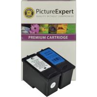 Lexmark 44 / 18Y0144E & 43 / 18Y0143E Compatible Black & Colour Ink Cartridge Pack