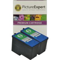 Lexmark 5 / 18C1960 Compatible Colour Ink Cartridge x 2