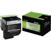 Lexmark 80C2XK0 (802XK) Original Extra High Capacity Black Toner Cartridge