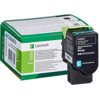 Lexmark C2320C0 Cyan Return Program Toner Cartridge (Original)