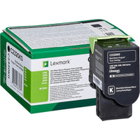Lexmark C2320K0 Black Return Program Toner Cartridge (Original)