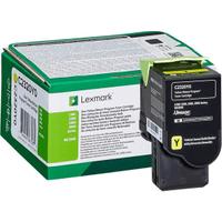 Lexmark C2320Y0 Yellow Return Program Toner Cartridge (Original)