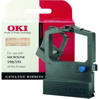 OKI 09002316 Original Nylon Black Ribbon