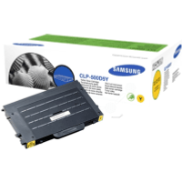 Samsung CLP-500D5Y Yellow Toner Cartridge (Original)