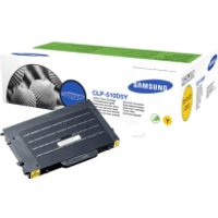 Samsung CLP-510D5Y Yellow High Capacity Toner Cartridge (Original)