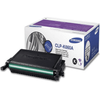 Samsung CLP-K660A (ST899A) Black Toner Cartridge (Original)
