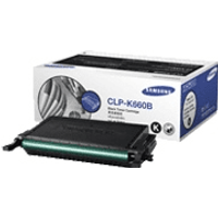 Samsung CLP-K660B (ST906A) Black High Capacity Toner Cartridge (Original)