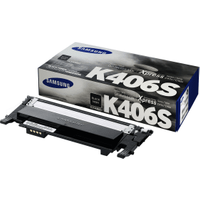 Samsung CLT-K406S (SU118A) Black Toner Cartridge (Original)