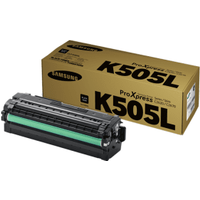 Samsung CLT-K505L (SU168A) Black High Capacity Toner Cartridge (Original)