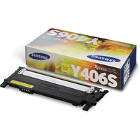 Samsung CLT-Y406S (SU462A) Yellow Toner Cartridge (Original)