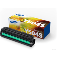 Samsung CLT-Y504S (SU502A) Yellow Toner Cartridge (Original)