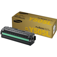 Samsung CLT-Y505L (SU512A) High Capacity Yellow Toner Cartridge (Original)