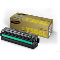 Samsung CLT-Y506L (SU515A) High Capacity Yellow Toner Cartridge (Original)