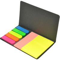 Sticky notes with cover