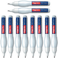 Tipp-Ex Shake n Squeeze Fine Point Correction Fluid Pen (10 Pack)