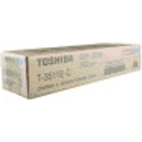 Toshiba T-3511E-C Original Cyan Toner Cartridge
