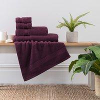 Grape Egyptian Cotton Towel Grape (Purple)