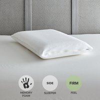 Value Memory Foam Firm-Support Pillow White
