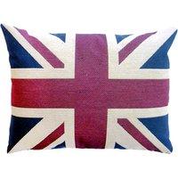 Vintage Union Jack Cushion Blue / Red