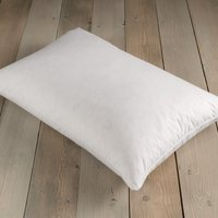 Wash Me Duck Feather and Down Medium-Support Pillow White
