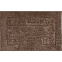 Luxury Cotton Non-Slip Plain Bath Mat Sable (Brown)