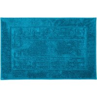 Luxury Cotton Non-Slip Bath Mat Turquoise