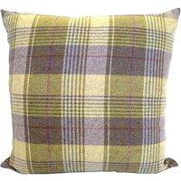 Tweed Woven Cushion Lilac