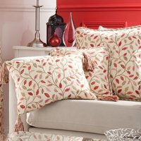 Heritage Terracotta Glava Boudoir Cushion Terracotta
